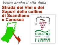Road of wines and flavors of the hills of Scandiano and Canossa